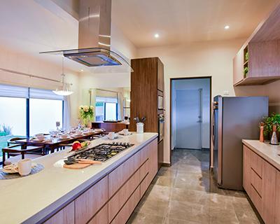 Cocina de casa en Saltillo norte modelo Duna