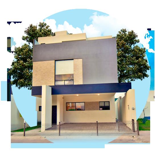 Residencia en Saltillo norte modelo Duna