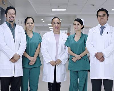 Personal médico de Hospital Christus Muguerza