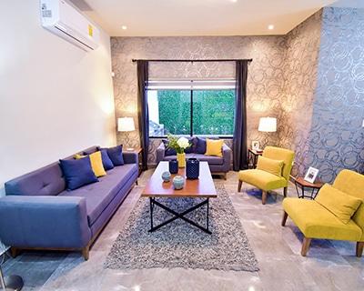 Sala de residencia Khali en Alyssa